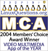 2004 LinuxQuestions.org Members Choice Award